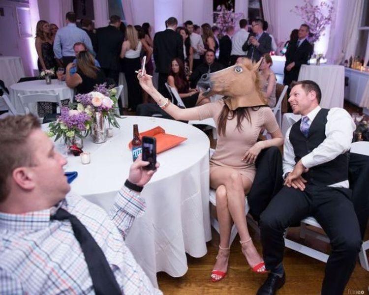 Смешные случаи свадьбы