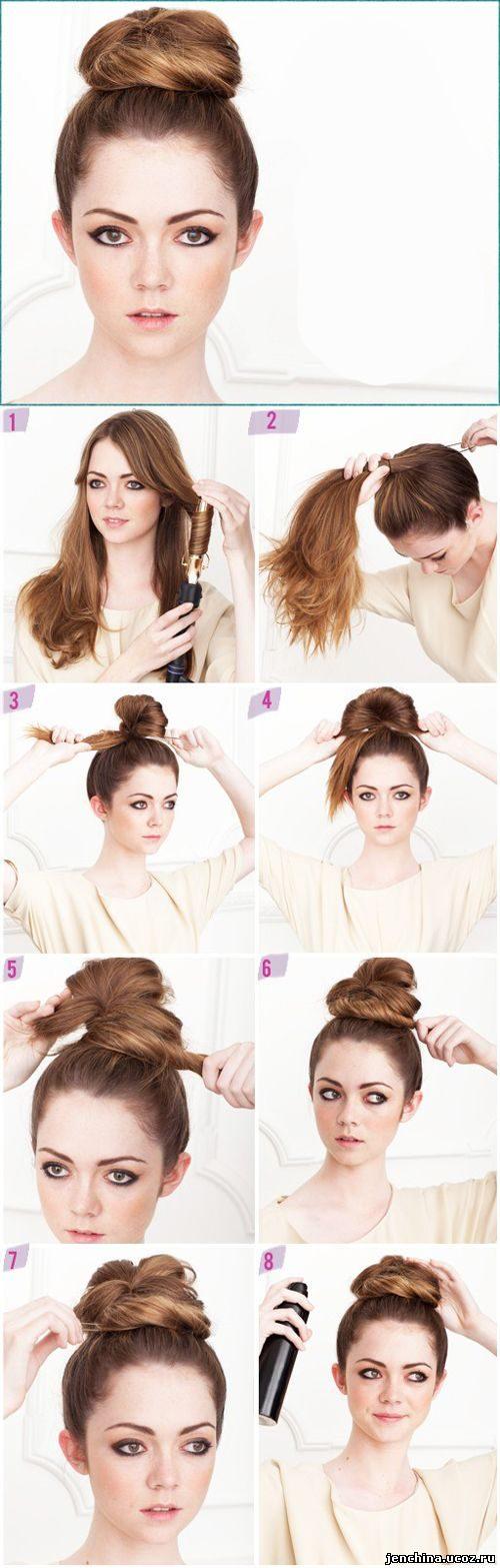 Модные прически своими руками на короткие волосы