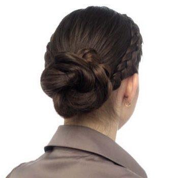 Как сделать прически «пучки» пошагово