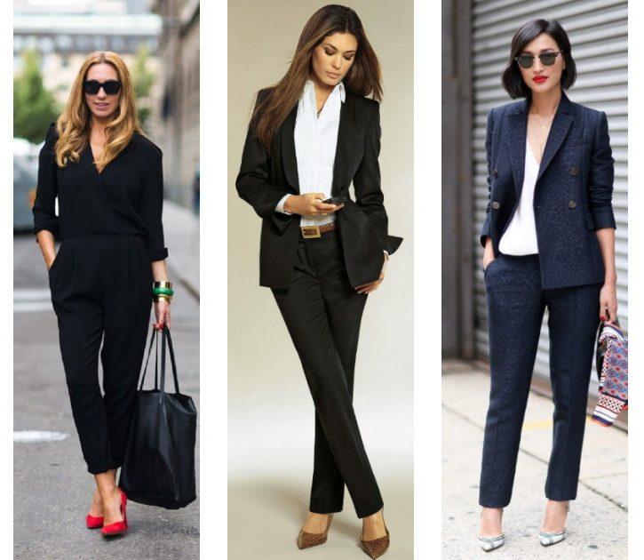Что можно носить с женскими брюками