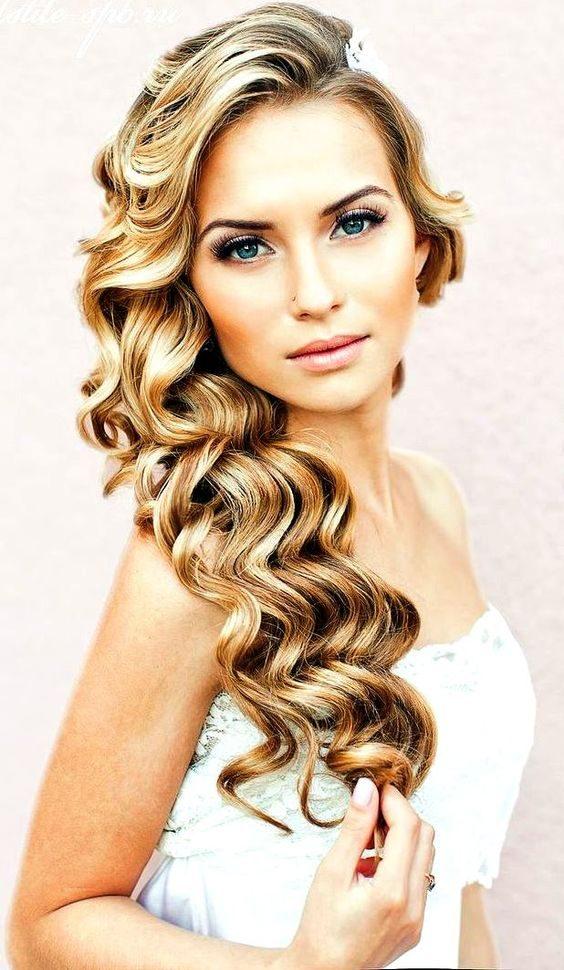 прически на свадьбу 2015 фото на средние волосы локоны