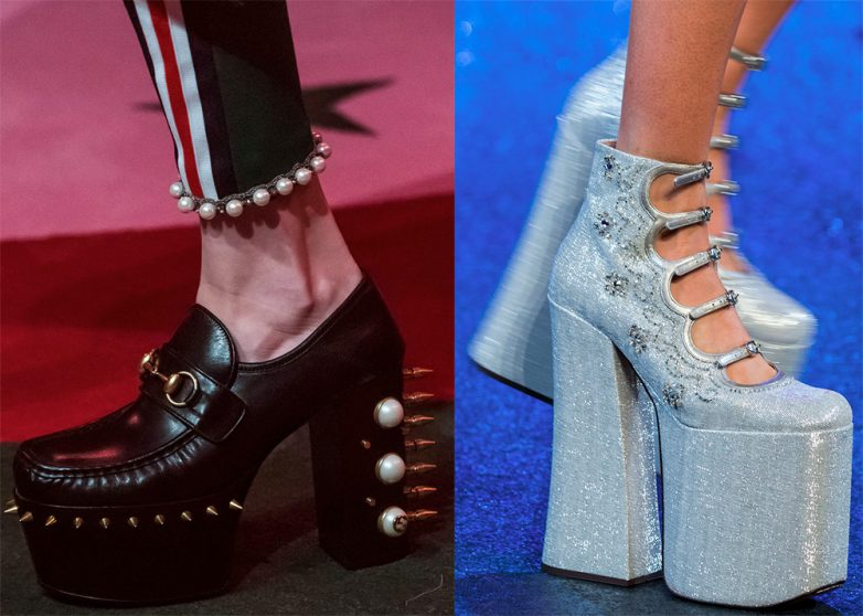 Однако, много летней обуви из текстиля. Видов платформы множество, а  фантазии у дизайнеров ещё больше, а потому новые модели все появляются и  появляются. e295de5fa67