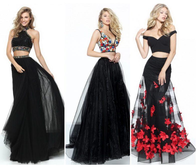 Модель выпускных платьев