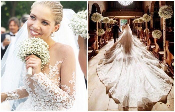 Выкинула платье свадебное