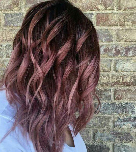 Цвет волос, который стал хитом этой осени
