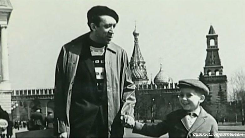 Малоизвестные фотографии знаменитостей: Юрий Никулин