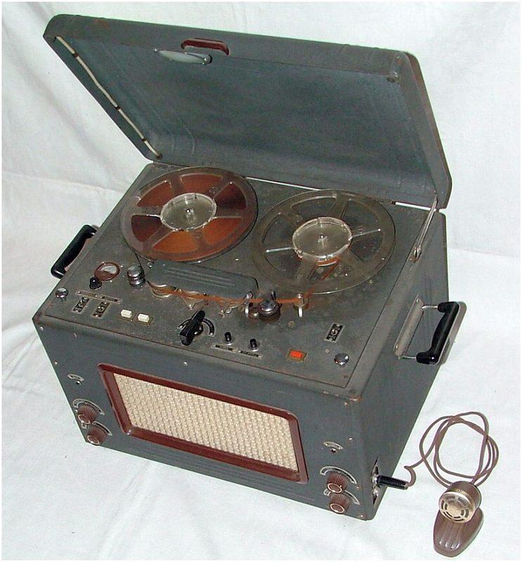 Катушечный магнитофон ''Дайна'' (Эльфа-29).