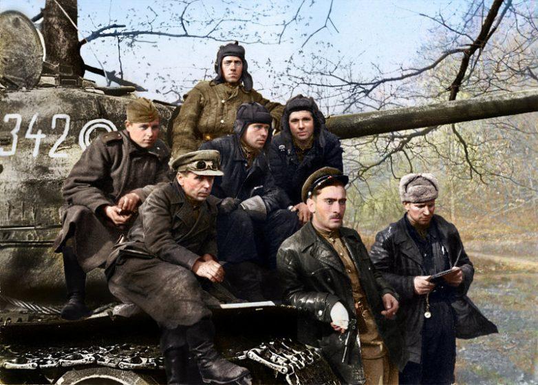 Военные фото в цвете
