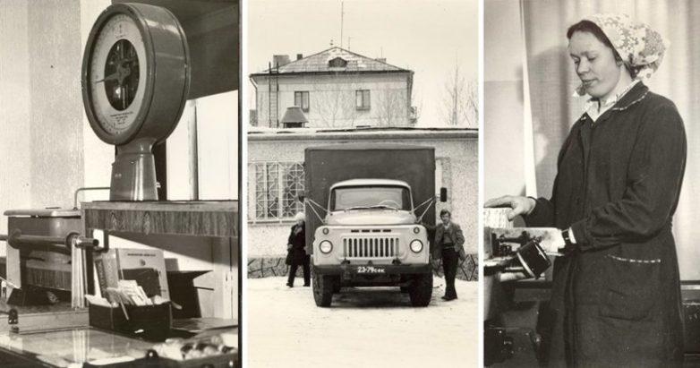 Уникальные кадры работы советской почты