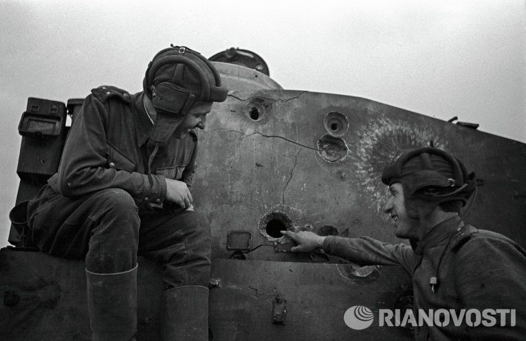 Как советская армия гнала фашистов от Курска