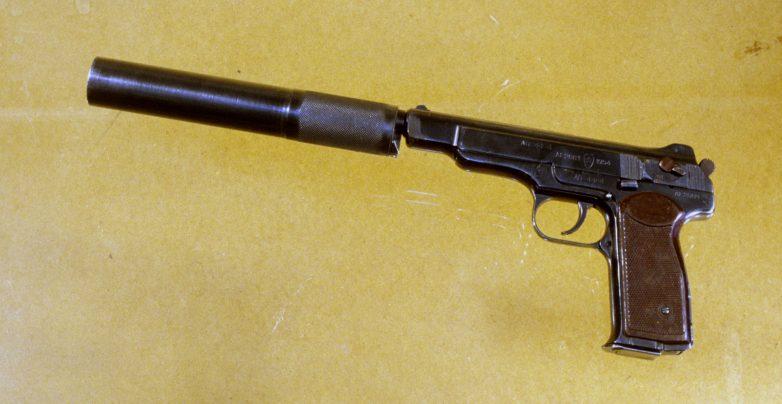 Пистолет системы Стечкина