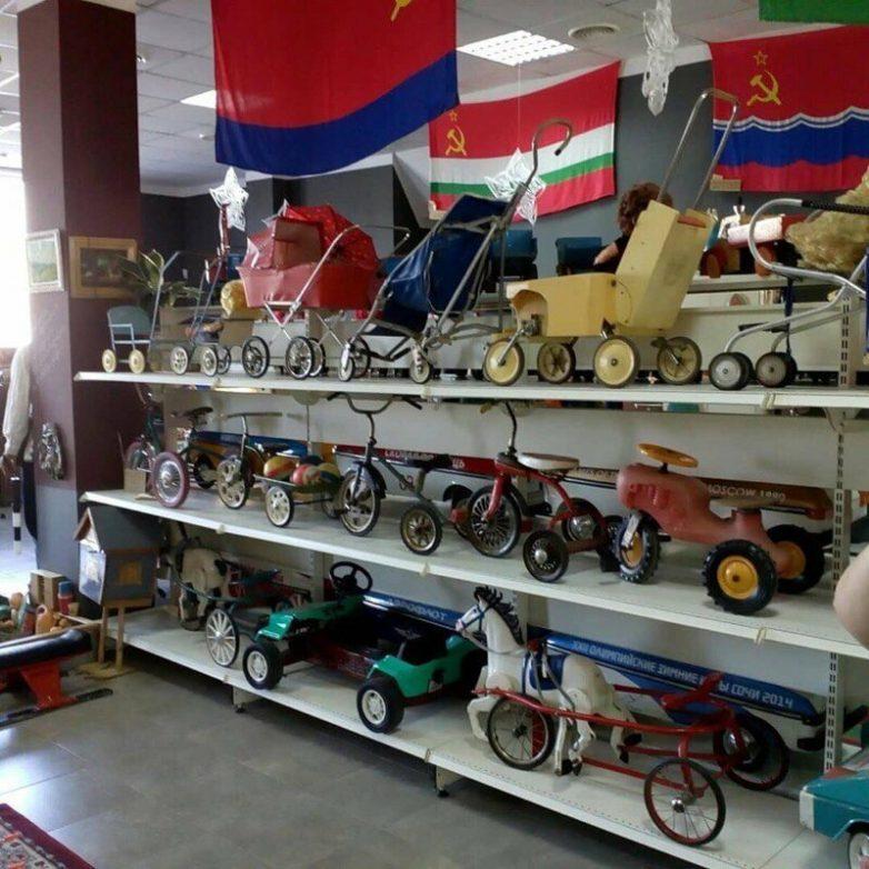 Предметы и вещи советской эпохи из музей СССР в Сочи