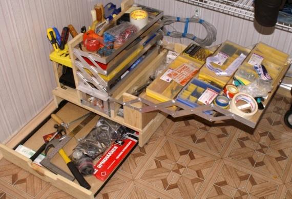 Переносные ящики для инструментов своими руками 458