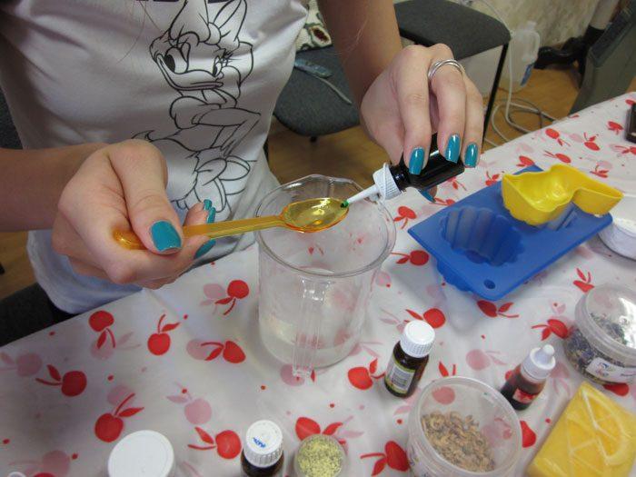 Как сделать детское мыло в домашних условиях