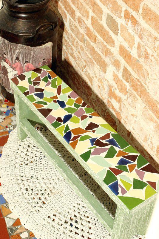 Как украсить дом мозаикой своими руками