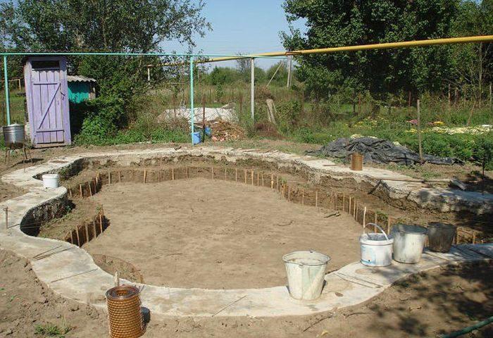 Как построить дом на участке своими руками