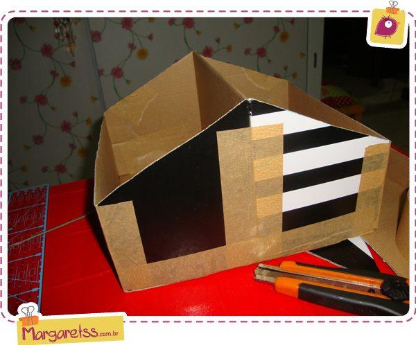 Как из картона сделать органайзер