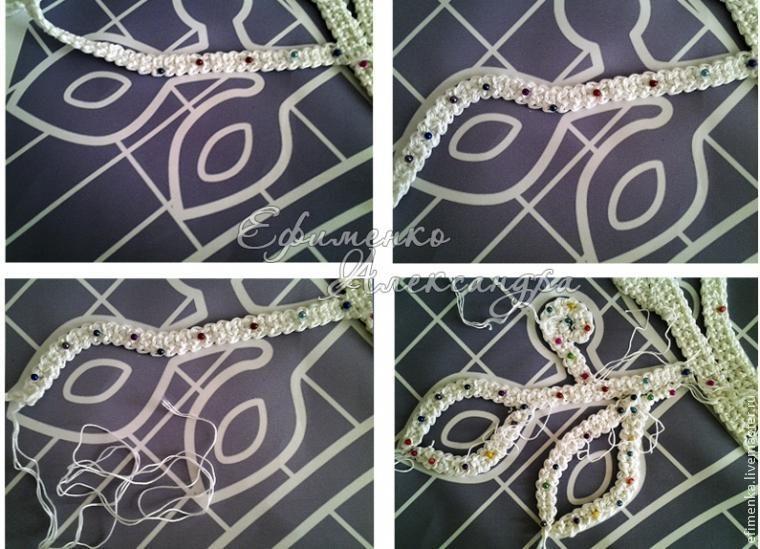 Схема соединения шнуров (МК из