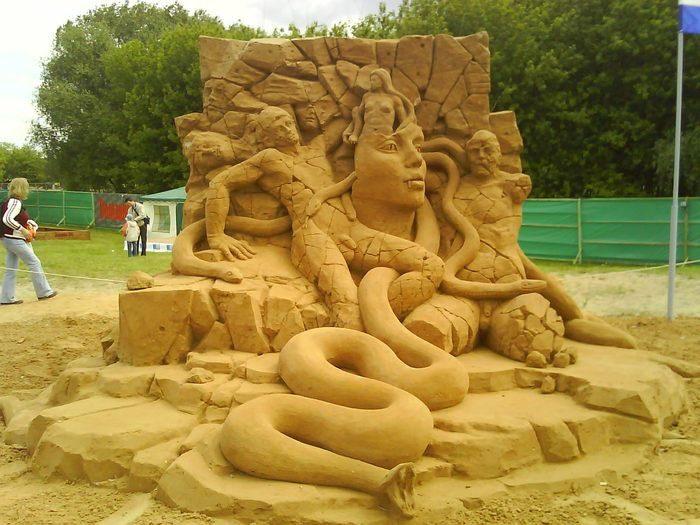 Шедевры из песка