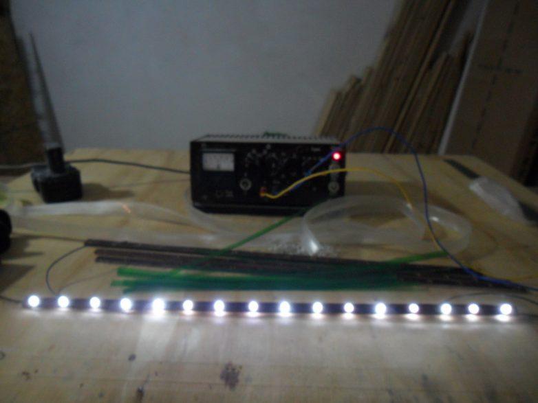 Идеи светодиодной подсветки своими руками