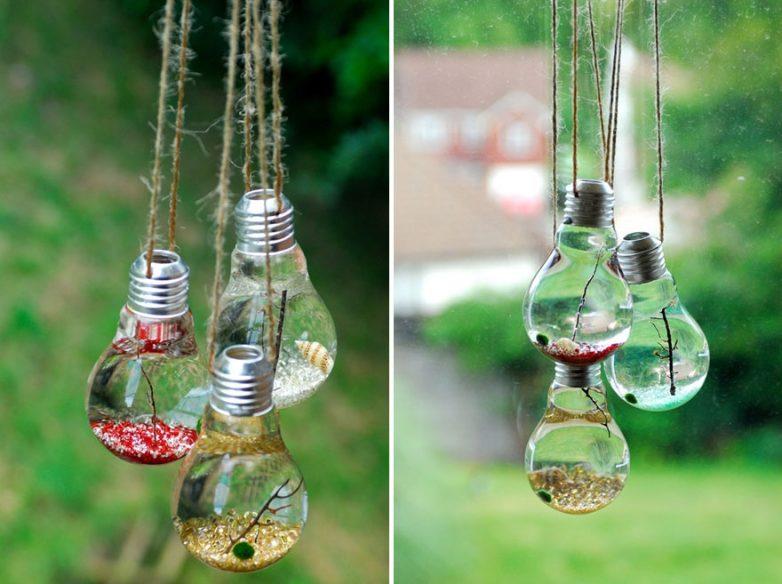 19 original ideas reuse bulbs