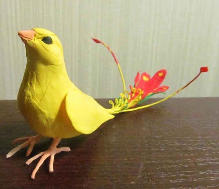 Делаем очаровательных райских птичек