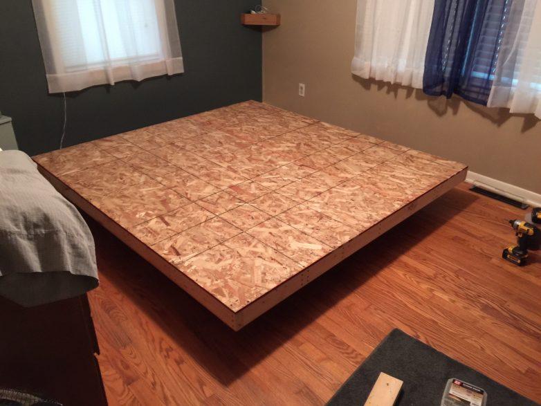 Osb Platform Bed