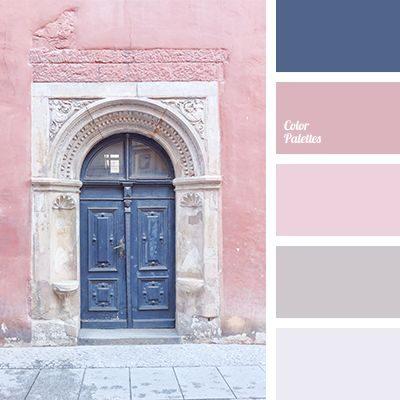 Сочетание серого и розового цветов в интерьере Я