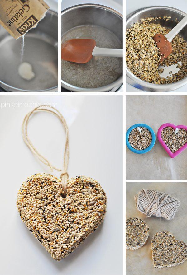 Печенье для птиц своими руками 15