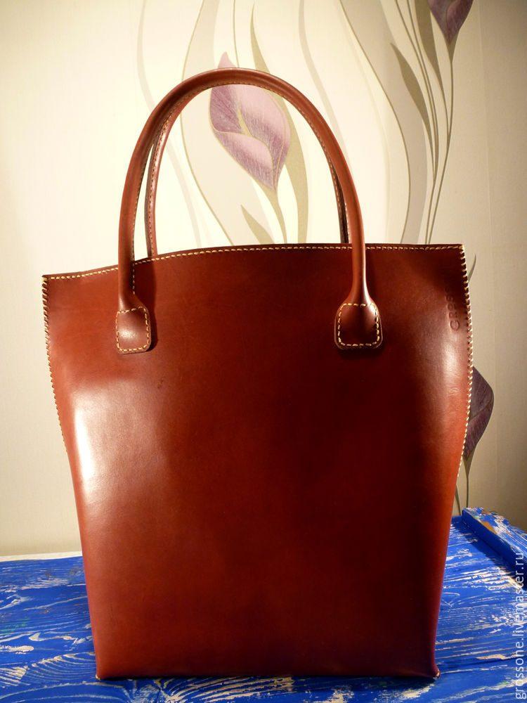 Женские сумки из кожи своими руками