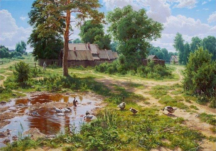 Чудесные картины Сергея Басова
