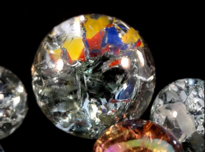 Что можно сделать из стеклянных шариков