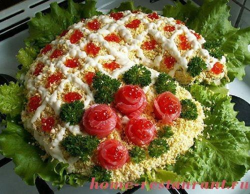 Самые вкусные салаты к новому году