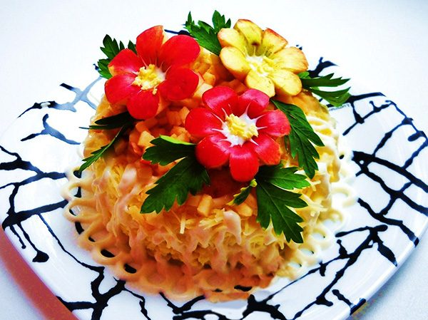 Салат фермерский рецепт фото