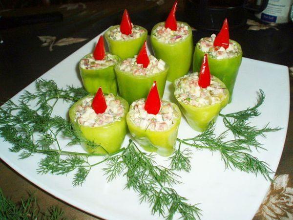 Украшение блюд на новый год своими руками