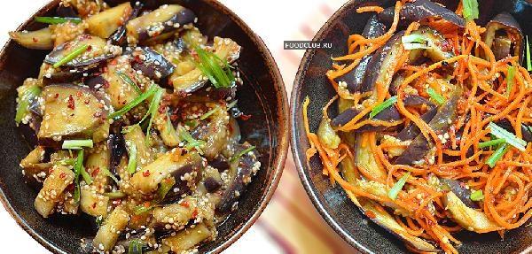 Баклажаны по-корейски
