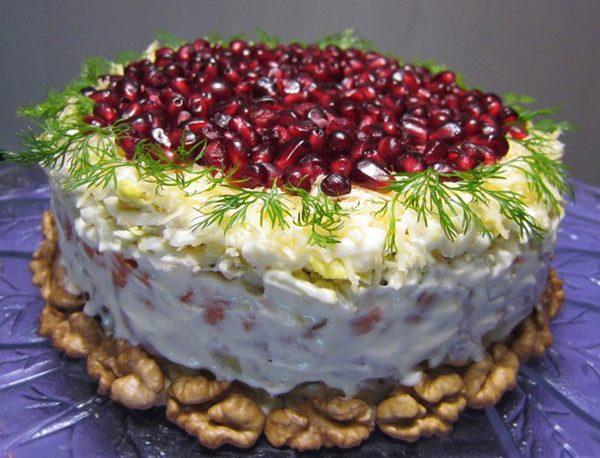 5 оригинальных салатов к Новому году
