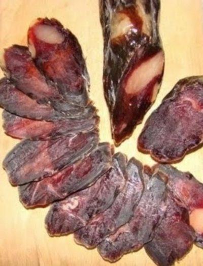 Домашняя вяленая колбаса / Едальня