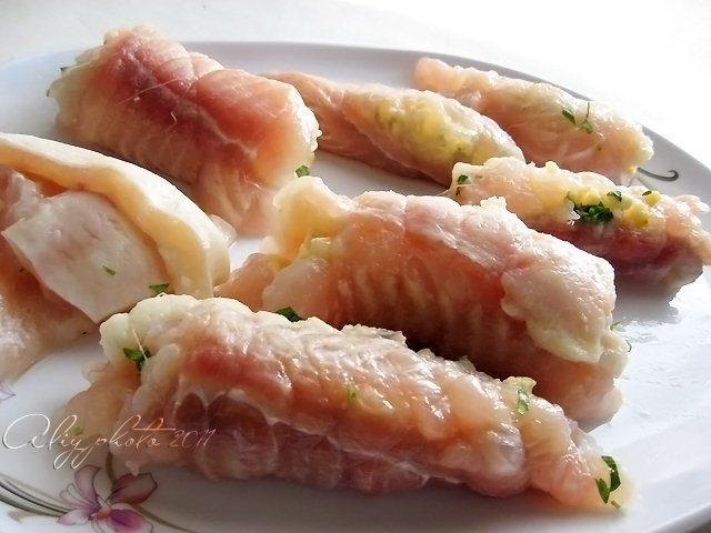 картофельный пирог с рыбой с фото