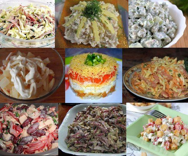 10 самых быстрых и вкусных салатов