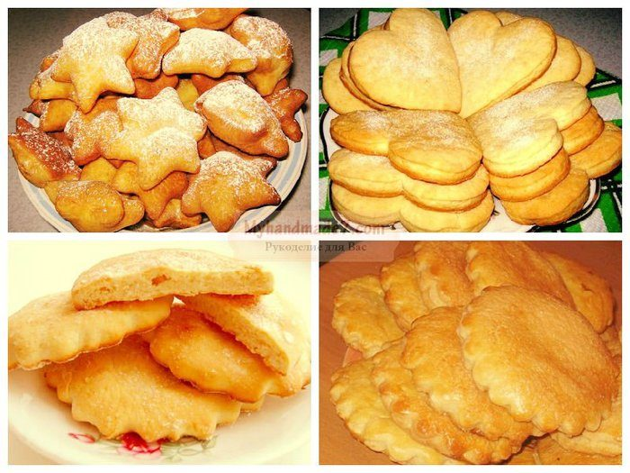Рецепты быстрого печенья