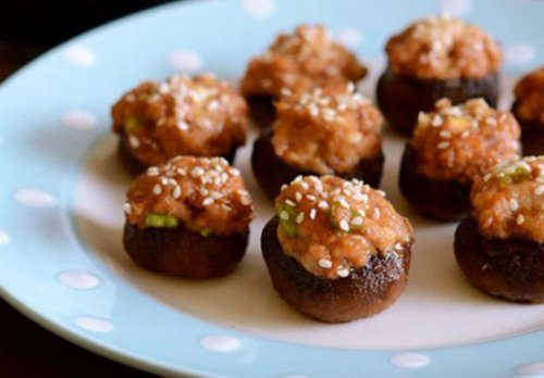 10 Лучших рецептов фаршированных грибов