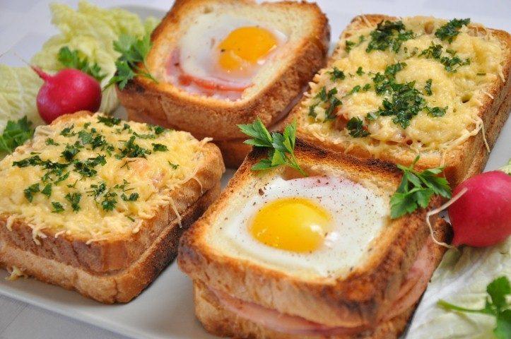 Вкусные бутерброды на завтрак рецепт с фото