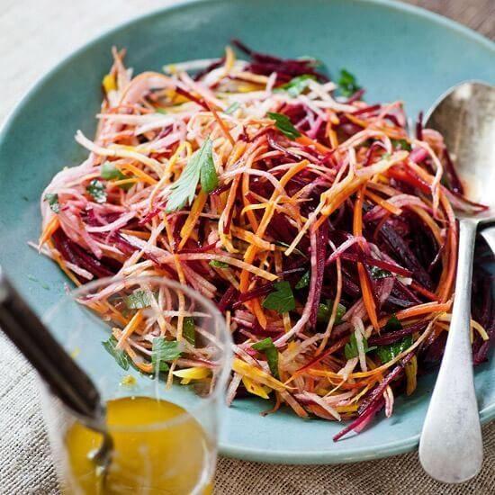 овощной салат для очищения кишечника рецепт