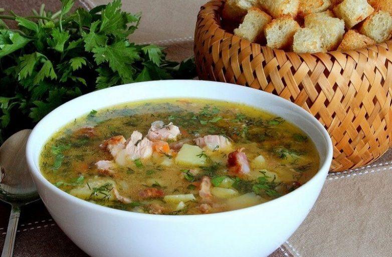 Суп с копченостями рецепт с фото пошагово