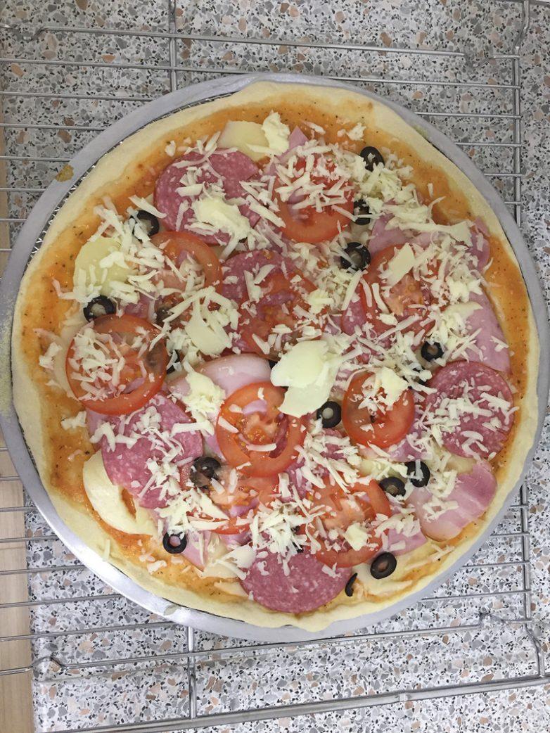 Самая вкусная пицца в домашних условиях рецепт в духовке