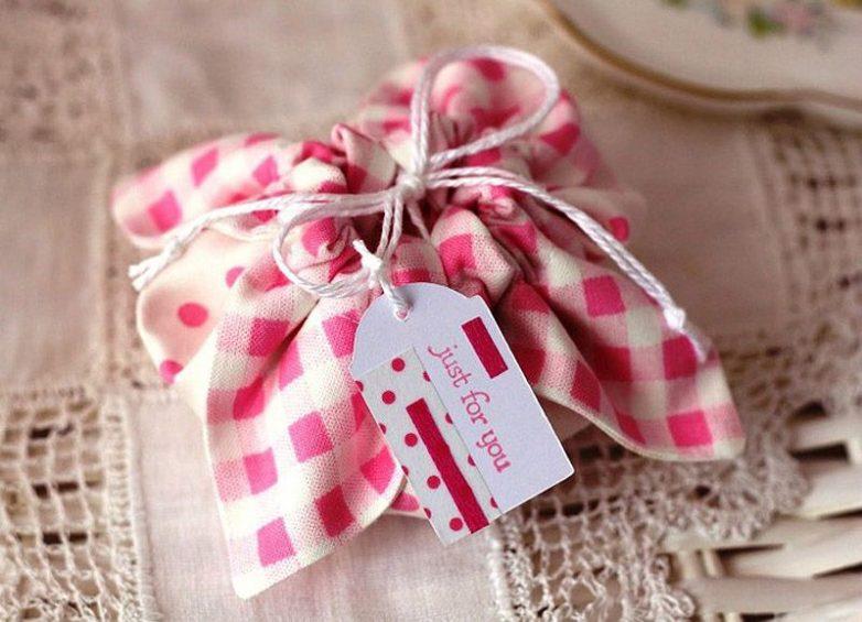 Текстильная упаковка для подарков 527