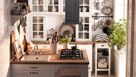 40 IKEA Small Modern Kitchen Design Ideas