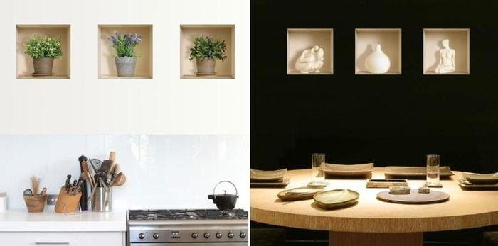 3 d wall decals