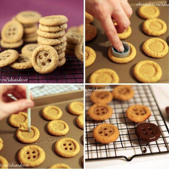Как сделать красивое печенье своими руками